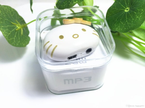 For kids xmas gift E323 hello kitty MP3 Player Multi color Mini USB Clip MP3 Player Support 2/4/8/16 GB Micro SD/TF card hot