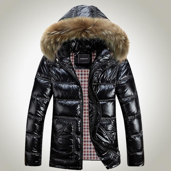 LEFT ROM Uomini 2017 vendita calda di spessore di alta qualità autunno inverno caldo Outwear Marca cappotto Casual solido maschio Giacche antivento S-8XL