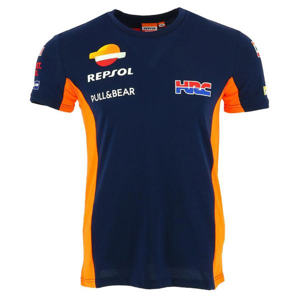 Free shipping Repsol Gas Moto GP Team T-Shirts Racing Clothing Motorbike Motorcycle motogp Riding Drivin T shirt short sleeve