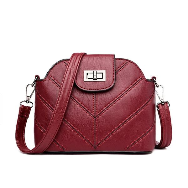 2018 Small Handbags women leather Shoulder mini bag Crossbody bag Sac a Main Femme Ladies Messenger Long Strap Female Clutch
