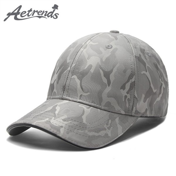 [AETRENDS] 2018 New Camouflage Cap Men Tactical Baseball Caps Outdoor Camo Hat Motorcycle Tennis Sport Hats for Men Women Z-6578
