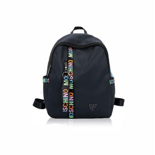 Neueste mode designer rucksack frauen rucksäcke für teenager mit doppelreißverschluss oxford stoff colleage taschen damen reise rucksack