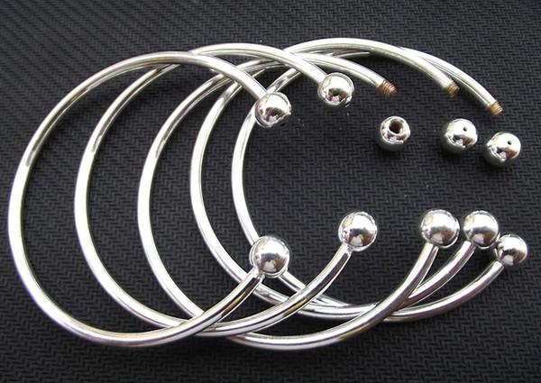 Pulseira de prata banhado a prata pulseira de amor de luxo aberto mulheres cuff bangle fit diy contas charme pulseira