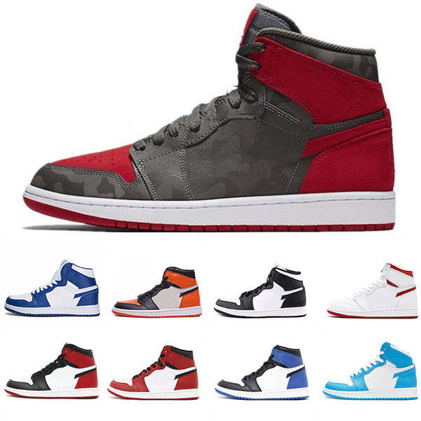 sports shoes 21b3b 39213 Best new 1 OG Chicago Gold Top 3 Royal Bred Basketball Shoes ...