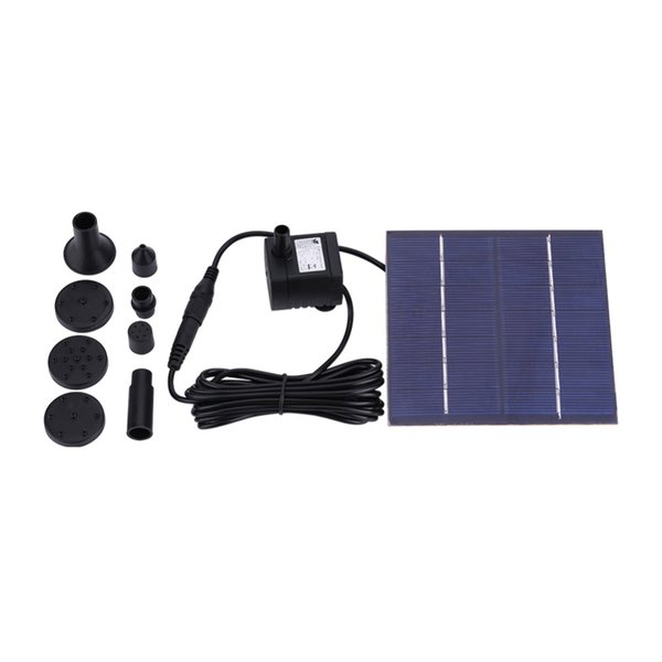 Solar Water Fountain Pump Panel Watering Kit For Bird Bath Fish Tank Small Pond Oxygen Water Circulation Garden Watering System