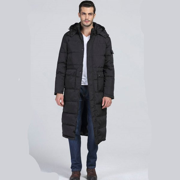 2018 Men Clothes Coat Fashion Winter Men Couples Outwear Jackets and Coats Korean Casual Parkas Jacket Hooded Male Tops ZT277