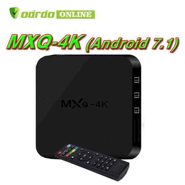 Android 7.1 Tv Box MXQ PRO 4K Quad Core 1GB 8GB Rockchip RK3229 Streaming Media Player Smart Iptv Box set top box