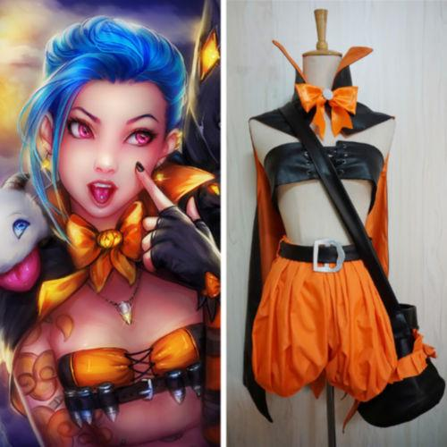 Lol League Of Legends Jinx Cosplay Halloween Party Cosplay Costumes Canada 2019 From Dream7 Cad 72 33 Dhgate Canada