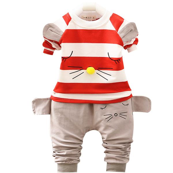 Yeni ilkbahar sonbahar yeni moda bebek erkek spor takım elbise Çocuk giyim seti yürüyor rahat çocuk eşofman set çocuk giyim