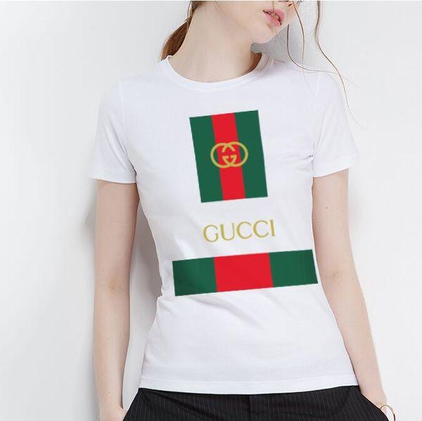 2018 Fashion T Shirt High Quality Men women t shirt Slim Fit 100% Cotton Tshirt Short Sleeve Brand letter Print Design Tops T-Shirt