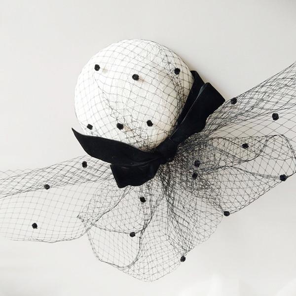 2018 Beautiful Vintage Birdcage Bridal Flower Handmade Flowers Fascinator Bride Wedding Hats Face Veils Cheap Free Shipping