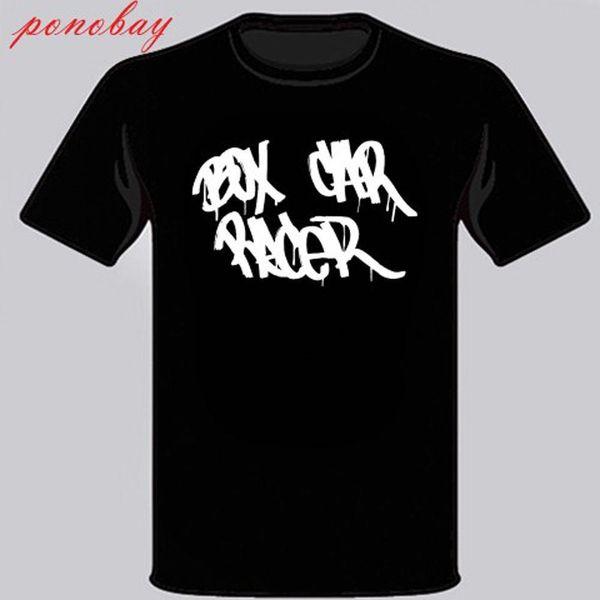 Novo Box Car Racer American Rock Band Men Preto T-Shirt Tamanho S - 3XL