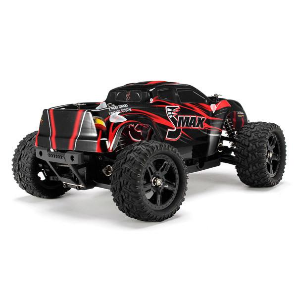 New Design Remo 1631 1 /16 2 .4g 4wd Brushed Off -Road Monster Truck Smax Rc Remote Control Toys With Transmitter Rtr