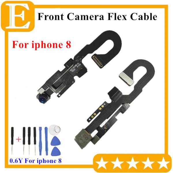 OEM Front Camera For iPhone 8G 4.7'' 8 Plus 5.5 inch Front Facing Camera Module Flex Cable Replacement Parts 10PCS/Lot