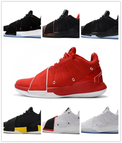 2018 New Releasing Chris Paul Mens Basketball Shoes CP3.XI Home Taxi Designer Sports Sneakers High Quality AA1272