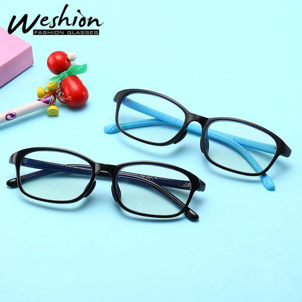Crianças Óculos de Armação Anti Raio Azul Protective Transparente Espetáculo Armações de Computador Óculos TR90 Shades UV400