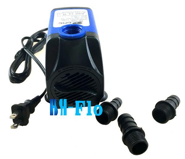 1800L/H 110V Submersible Fountain 15W Water Pump Aquarium Hydroponic Pond US Plug