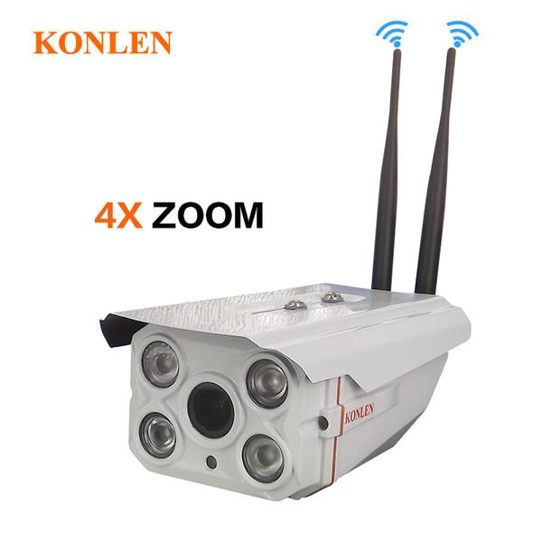 1080P Zoom IP Camera Outdoor Waterproof WIFI 4X Optical 2MP Full HD Sony IMX322 CCTV Security TF SD Card Audio Onvif IR Infrared