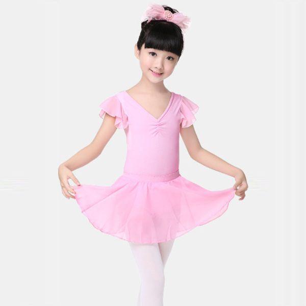 2018 New Infant Toddler Kids Children Ballet Tutu Dress Dance Costume Pink Fairy Girls Ballet Dress For Children Dancewear