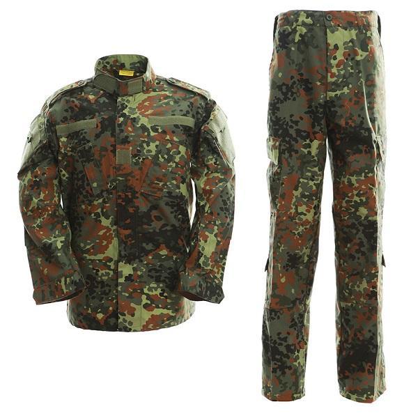 Chemise uniforme de chasse Combat BDU uniforme T-shirt Flecktarn