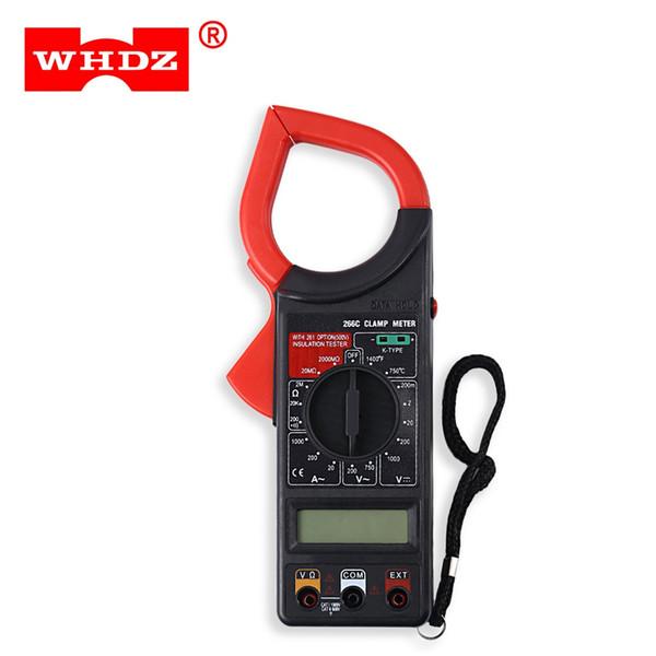 Digital Clamp Meter K-Tipo de Temperatura Tester 1000 V Tensão 1000A AC Atual Tester Braçadeira Profissional de Diagnóstico-Ferramenta