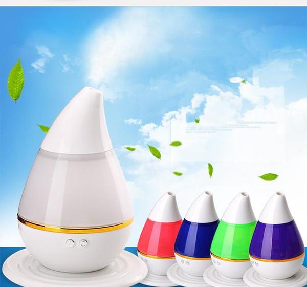 2018 Colorido Difusor de aroma Humidificador USB Purificador de aire Atomizador Difusor de aceite esencial Mist Maker Fogger difusor de aromaterapia