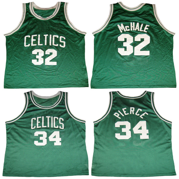 size 40 58a3f 7d57a 2018 #32 Kevin Mchale #34 Paul Pierce Boston Retro Classic Basketball  Jersey Mens Stitched Custom Any Number And Name Jerseys From Yufan13,  $31.15 | ...