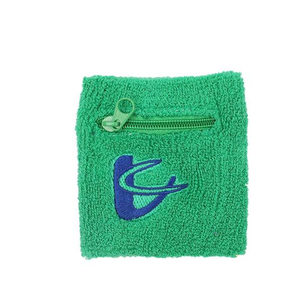 Running Bag Cotton zipper purse Wrist Wallet Pouch Arm Band Bag For Key Card Storage Case Badminton Basketball Wristband