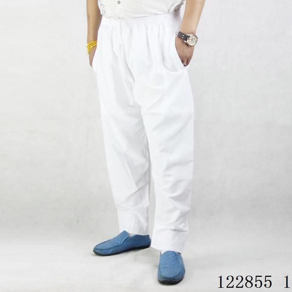 top popular New Fashion Muslim Men's Trousers Prayer Pants Afghan Pants Middle Eastern Arab Costumes Abaya Dubai Kaftan Cotton Islamic Clothing 2021