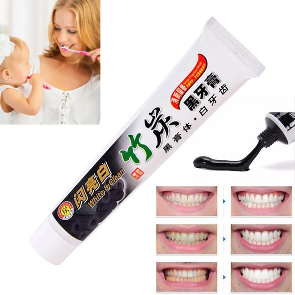 Горячий продавать хорошее качество бамбуковый уголь зубная паста эффективные универсальные зубы черный уголь зубная паста уход за полостью рта гигиена зубная паста 100 г