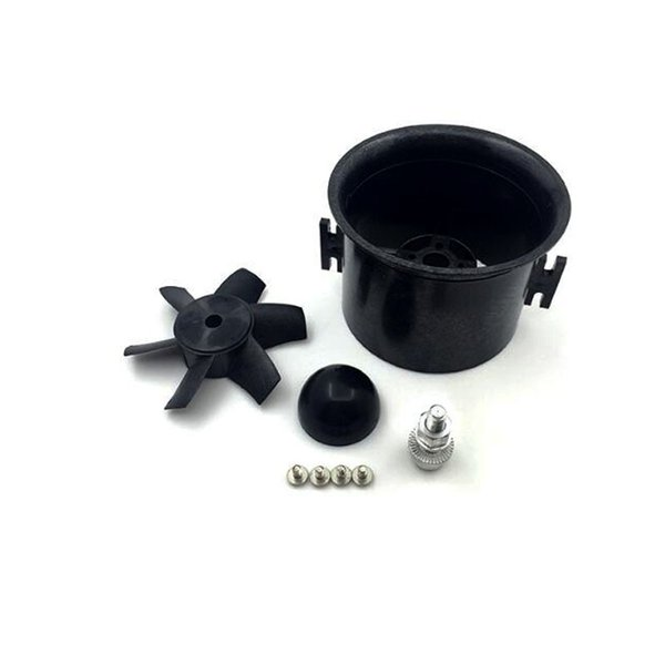 3 sets QX_MOTOR Brand 70mm EDF KIT with 6 Blades Ducted Fan Suit For RC Airplane Directly Buy from Factory