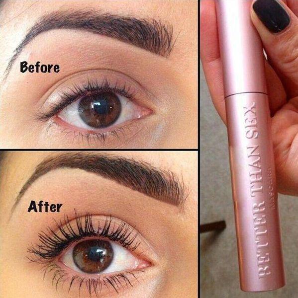 Rose Mieux Que Le Sexe Et Mieux Que l'Amour Mascara Long Black Lash Extension De Cils Eye Eye Cosmétique Lash Volume Imperméable