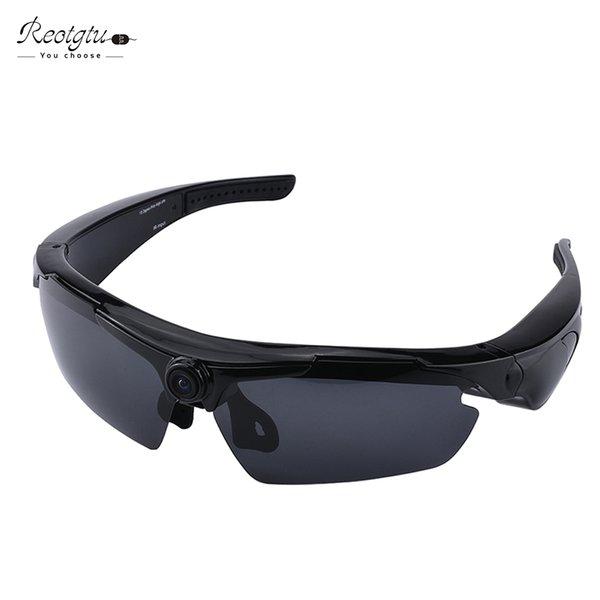 Al por mayor-REOTGTU multifunción RE23 HD1080P grabación de vídeo gafas de sol cámara inteligente gafas Mini videocámaras gafas