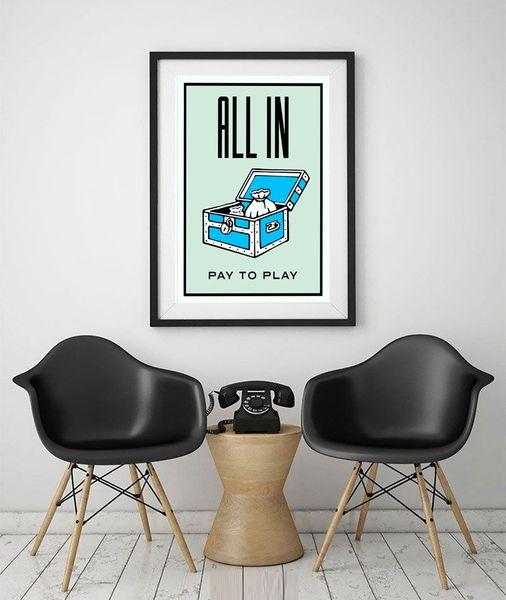 Senza cornice / Alec Monopoly