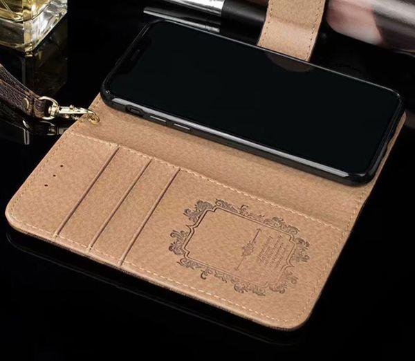 2018 Più nuovo Parigi Fashion Show Phone Case per Iphone X 8 8Plus 7 6 6S Plus Iphone Cases PU Custodia in pelle di lusso per Galaxy S9 S8 Plus