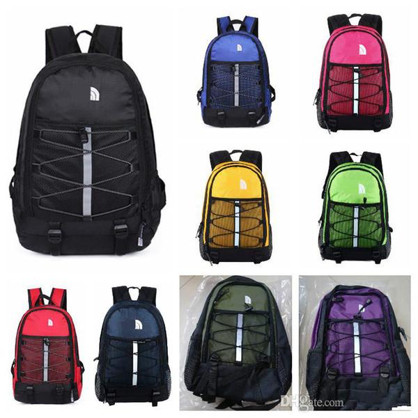 Designer de marca O Norte F Mochila Luz Casual Mochilas de Viagem Sacos de Desporto Ao Ar Livre Adolescente Estudantes 41x27x18 cm Saco de Escola 9 Cores