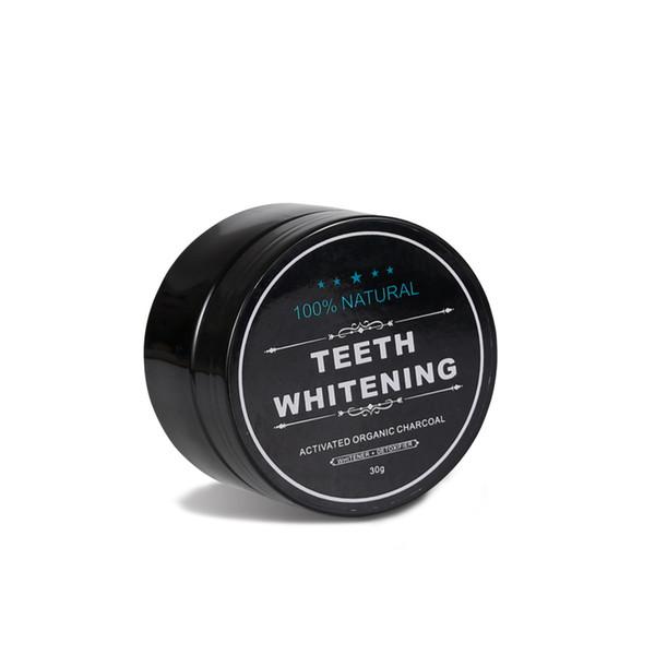 La fórmula fuerte blanqueada de los dientes del carbón de leña del bambú natural que blanquea blanquea el polvo del diente para la limpieza oral de la higiene