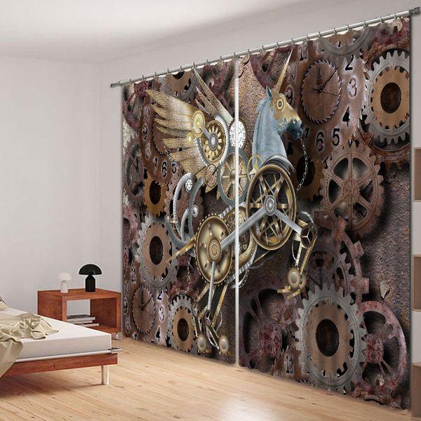 Gear Pegasus 3D impression numérique stéréo rideau insonorisé haute précision fil noir