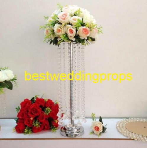 Düğün çiçek vazo çiçek düğün için Masa standı centerpieces Parti tedarik tall vazolar dekoratif düğün çiçek aranjmanı best0169