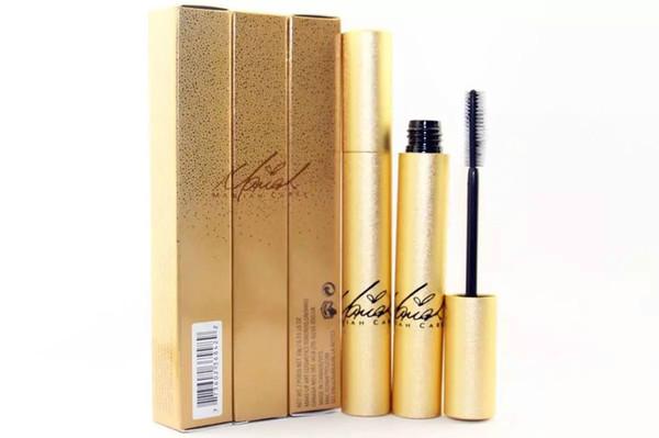 12pcs nuevos labios de maquillaje Silver / Gold Box Lash Mascara Rimel impermeable con la caja! Blac Free Shippingk