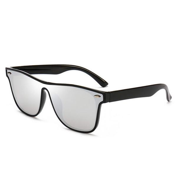 Mode BLAZE Lunettes De Soleil Hommes Femmes Cool Flash Lunettes De Soleil Marque Designer Miroir Cadre Noir gafas oculos de sol avec des cas vente