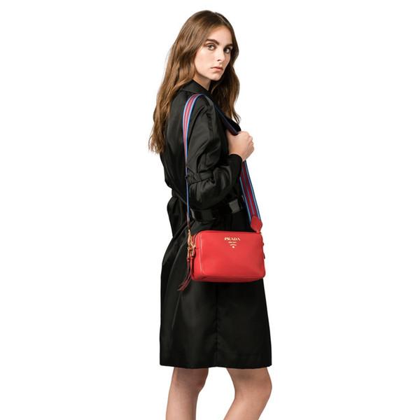Best selling Explosion Marke Designer Handtasche Luxus Handtasche Damen Doppel-Reißverschluss Umhängetasche Messenger Bag Farbe Schultergurt Tasche