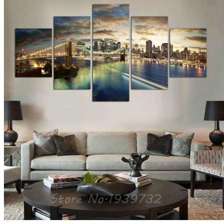 2019 HD New York City Landscape Canvas Painting Wedding Decoration For  Living Room Custom Modular Wall Pictures Direct Selli From Sabonhome,  $17.04 | ...