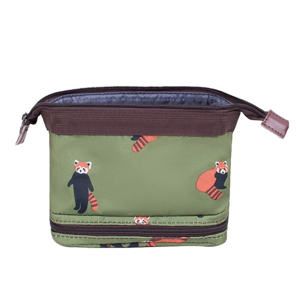 Wobag Women New Fashion Travel Bag Cosmetic Bag Polyester Material Flamingo Bear Design Beauty Box Cosmetics Storage