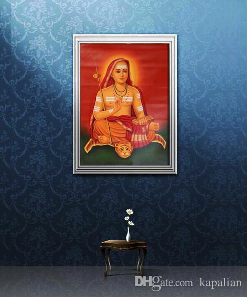 Adi Shankaracharya Jayanti Affiche d'Art Poster Art Affiches Imprimer Photopaper 16 24 36 47 pouces