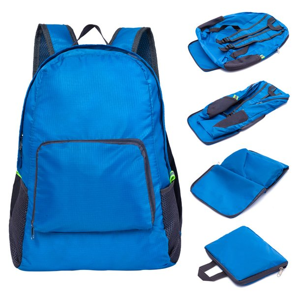 3d3910331497 Unisex Light Weight Backpacks Foldable Waterproof Man Travel Student School  Bag Large Capacity Portable Backpack Women Bags Briefcases For Men Travel  ...