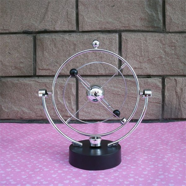 Magical Kinetic Orbital Gadget Simulation Swing Globe Toy Perpetual Motion Model Educational Science Home Furnishing Art And Craft 13hz Ww