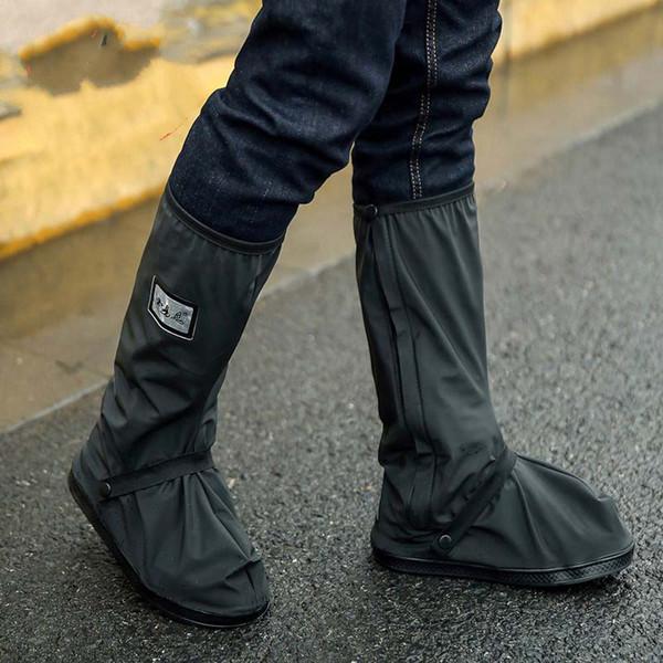 В розницу и оптом с Relectors водонепроницаемый мотоцикл Велоспорт дождь бахилы обувь легко ездить для всадника