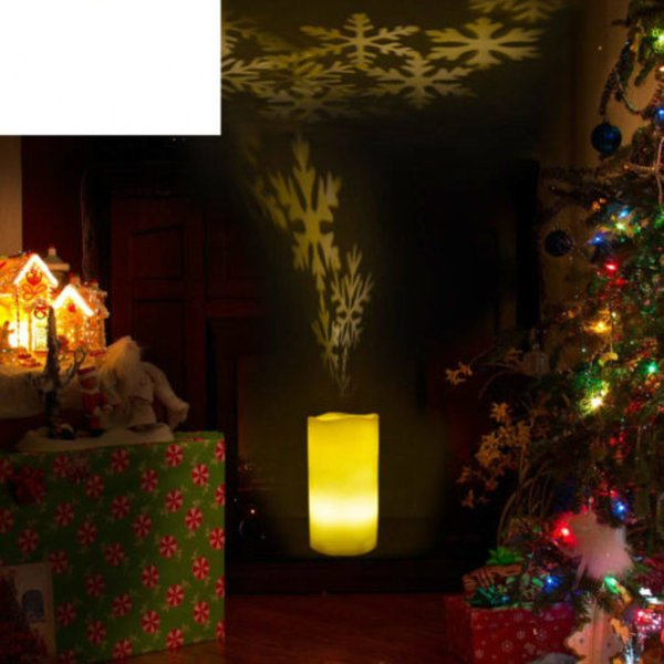 Flameless LED Votive Candles,Tea Light Candles,Battery-Operated Realistic Bulk Flickering Candles,Electric Fake Candles Projector Mood Lamp