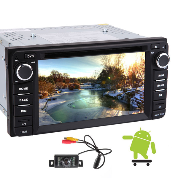 Wifi Model Android 6.0 Quad-core 6.2'' Full Touch-screen Car DVD CD Player for TOYOTA Corolla EX 2008~2013 GPS Stereo GPS Navigation